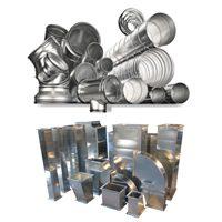 Вентиляционные воздуховоды и фасонные элементы