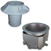 Вентиляционные монтажные стаканы и узлы прохода