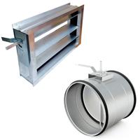 Клапаны вентиляционные КПВУ